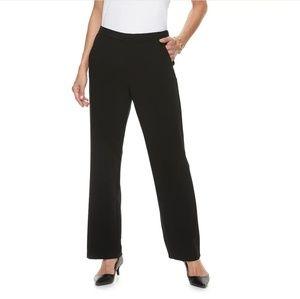 Coldwater Creek women's black dress slacks